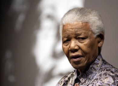 Former South African leader Nelson Mandela has died at the age of 95.
