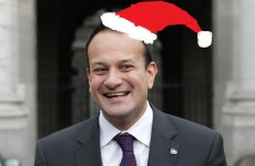 Varadkar waives fees and charges for Santa as mystery surrounds time he'll reach Ireland