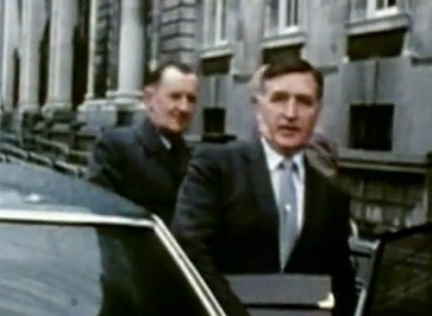 Patrick McLaughlin who retired as Garda Commissioner in 1983