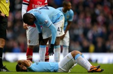 Aguero could face longer spell on sidelines – Pellegrini