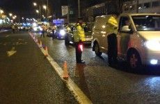 Over 300 drivers were breath-tested in Dublin last night