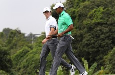 'I grew up dreaming of taking on Tiger': McIlroy rubbishes talk Woods is finished
