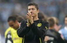 Dortmund striker Lewandowski denies punching teenager