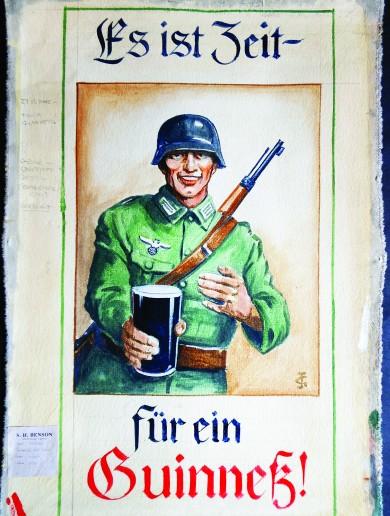 Guinness planned to advertise in Nazi Germany – and here are the posters