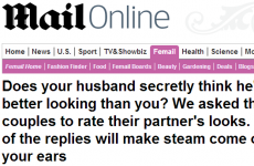 7 horrifying quotes from couples rating each other's looks in the Daily Mail
