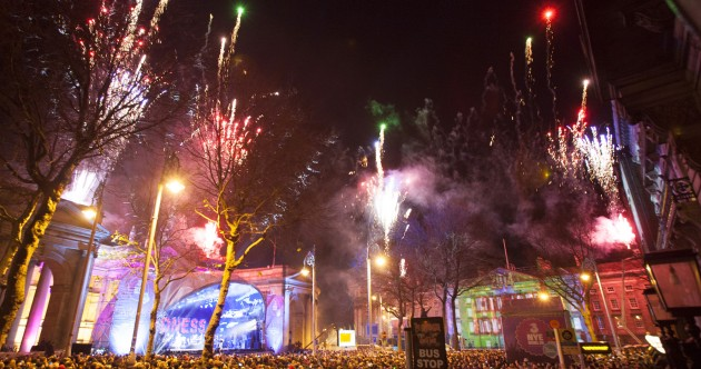 PICS: Here's how Ireland welcomed in 2014