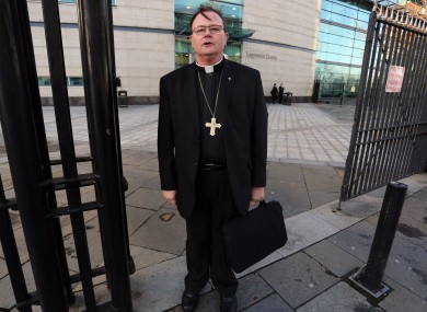 Buckley pictured outside Belfast Crown Court last month