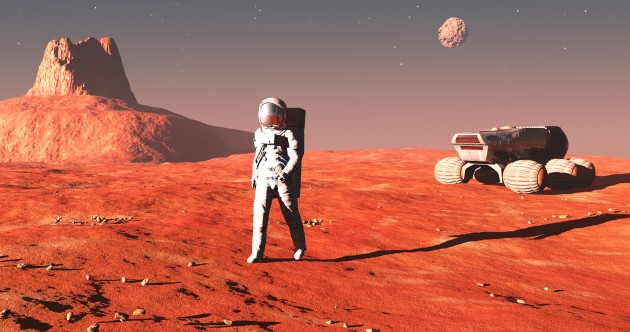 So, what are the chances we'll see an Irishman (or anybody) head to Mars?