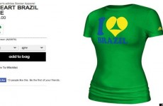 'Sexist' World Cup shirts withdrawn after Brazil complaint