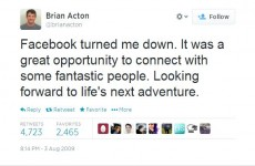 WhatsApp billionaire was rejected by Facebook AND Twitter in the past