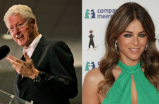 Apparently those rumours about Elizabeth Hurley and Bill Clinton aren't true