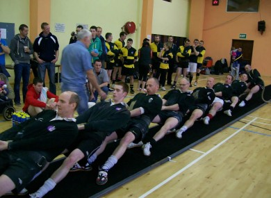 Gallagher and Clonmany B will be representing Ireland at the Tug of War World Championships.