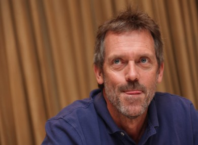 Hugh Laurie AKA Gregory House MD.
