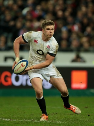 Owen Farrell is playing with more awareness than before.