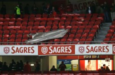 'Tragedy avoided' as crowd evacuated from Lisbon derby