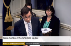 Does Shatter want more transparency in charities? 'You betcha' he does