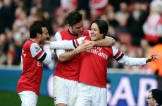 Arsenal scored another glorious tiki-taka goal as they beat Sunderland today