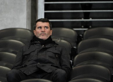 Ireland assistant manager Keane.