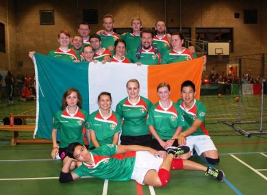The Irish dodgeball team are set to participate in the Six Nations this March.