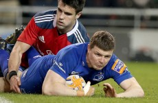 O'Driscoll proves the matchwinner as Leinster survive Munster storm