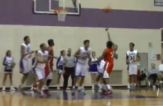 High school student sinks epic 85-foot buzzer beater