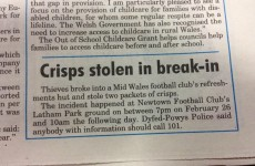 This Welsh local news story will leave a bad taste in your mouth