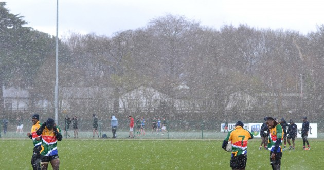 South African GAA team train in UCD ahead of Ballyboden St Enda's clash