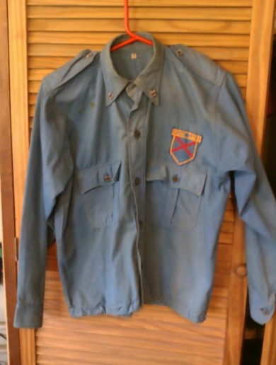 An 'original Fine Gael Blueshirt uniform' has just gone on sale…on eBay