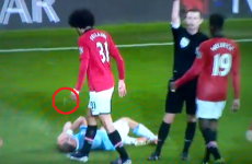 Did Fellaini spit at Zabaleta? FA to examine Manchester derby footage