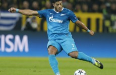 Here's Hulk's wonder goal from tonight's game with Dortmund
