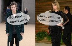 Taylor Swift and Harry Styles were forced to kiss and make up … It's the Dredge