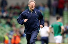 'Character and class can take you a long way' – Schmidt praises departing O'Driscoll