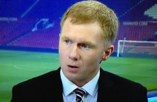 VIDEO: Paul Scholes didn't hold back in his analysis of Arsenal tonight
