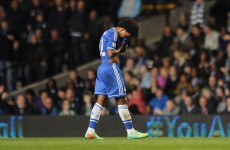 Chelsea's title hopes take a big blow as they lose