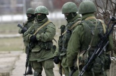 Pro-Russian gunmen have stormed a Ukrainian military command centre