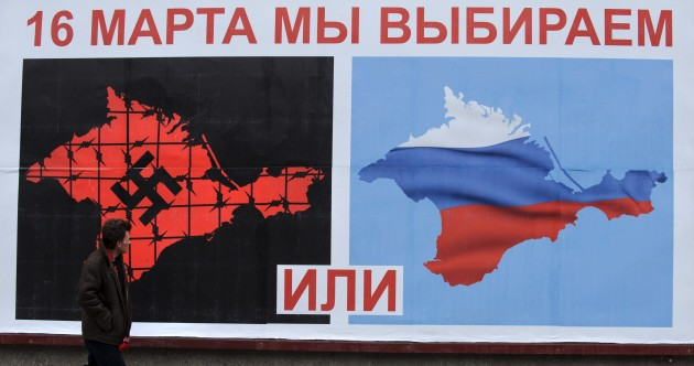 Crimean lawmakers' vote for independence 'does not violate international law'
