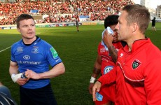O'Driscoll ends European odyssey in disappointment as Toulon prove too tough for Leinster