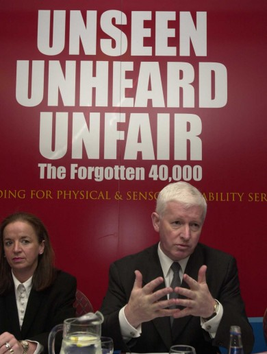 Frank Flannery was paid over €400k by Rehab since 2007