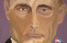 George W Bush has turned his hand to painting. Here's his portrait of Putin