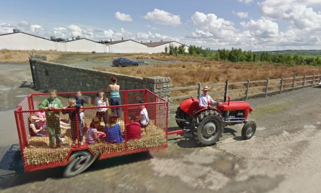 Google streetview bizarre sights in Ireland