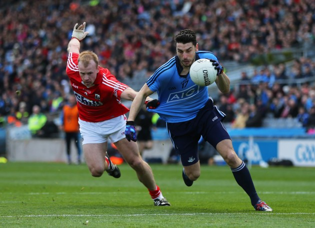 Michael Shields and Bernard Brogan
