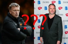 People are really mixing up David Moyes and Chris Moyles