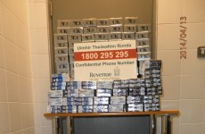 40,000 cigarettes seized at Cork Airport