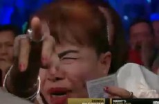 Manny Pacquiao's mam really gets into it when her son fights