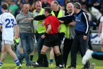 Ugly scenes as Garda escort referee off field after Dublin v Cavan
