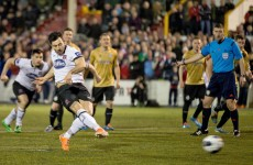 Dundalk share spoils with Shamrock