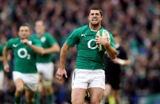 JJ Hanrahan, Rob Kearney and Jonny Sexton up for 2014 Try of the Year