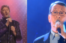 Singing Irish priest performs on the Late Late, gets confused with Father Ted
