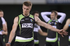 'Uphill battle' to stay in AFL for Tommy Walsh as he fights back from horror hamstring injury