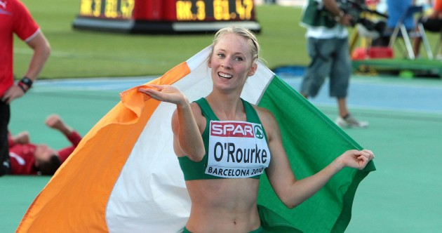 20 pictures that celebrate Derval O'Rourke's brilliant hurdling career